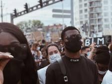 Depay en PSV-aanvoerder Dumfries bij demonstratie in Rotterdam