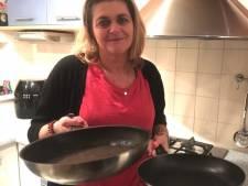Marianne bakt honderden pannenkoeken per uur