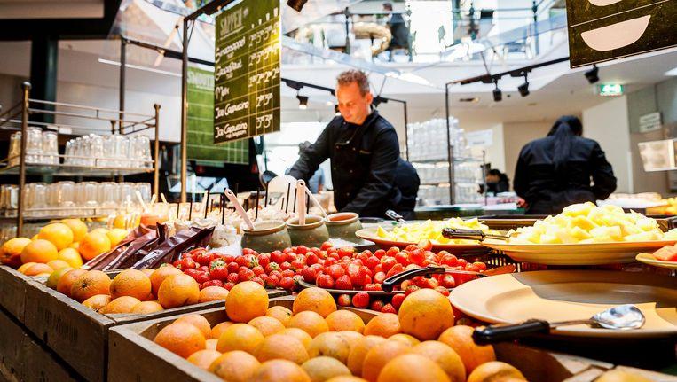 Het La Place-restaurant aan het Rokin in Amsterdam. Beeld anp