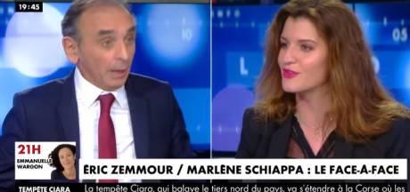 """Zemmour face à Schiappa: """"La France, ce n'est pas McDonald's, on ne vient pas comme on est"""""""