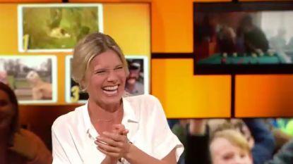 Nathalie Meskens kaapt haar eigen blooper: één verspreking en ze wordt plots de stoerste chick in de zaal