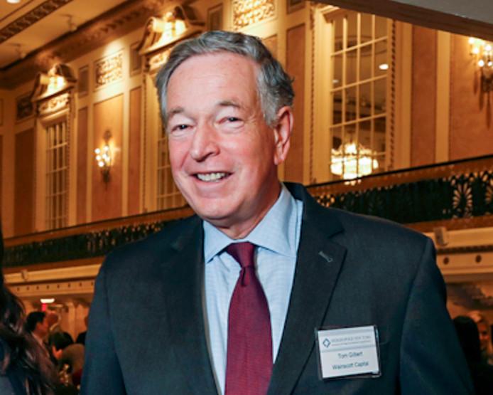 Thomas Gilbert Senior in november 2014.