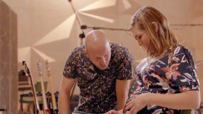 """Ook ongeboren baby geniet van muziek in 'Studio Stan': """"Het was een feestje in mijn buik"""""""