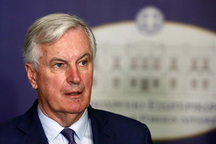 Le négociateur européen en charge du Brexit, Michel Barnier