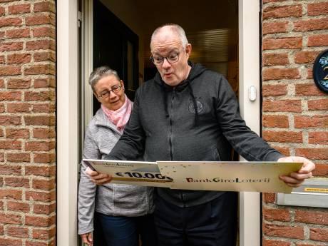 Marianne en Ben uit Waddinxveen winnen 10.000 euro bij BankGiro Loterij