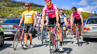 """Met Matteo Simoni en Louis Talpe op de set van 'The Racer': """"We blijven acteurs op een fiets: er hangt nog een beetje buikvet aan"""""""