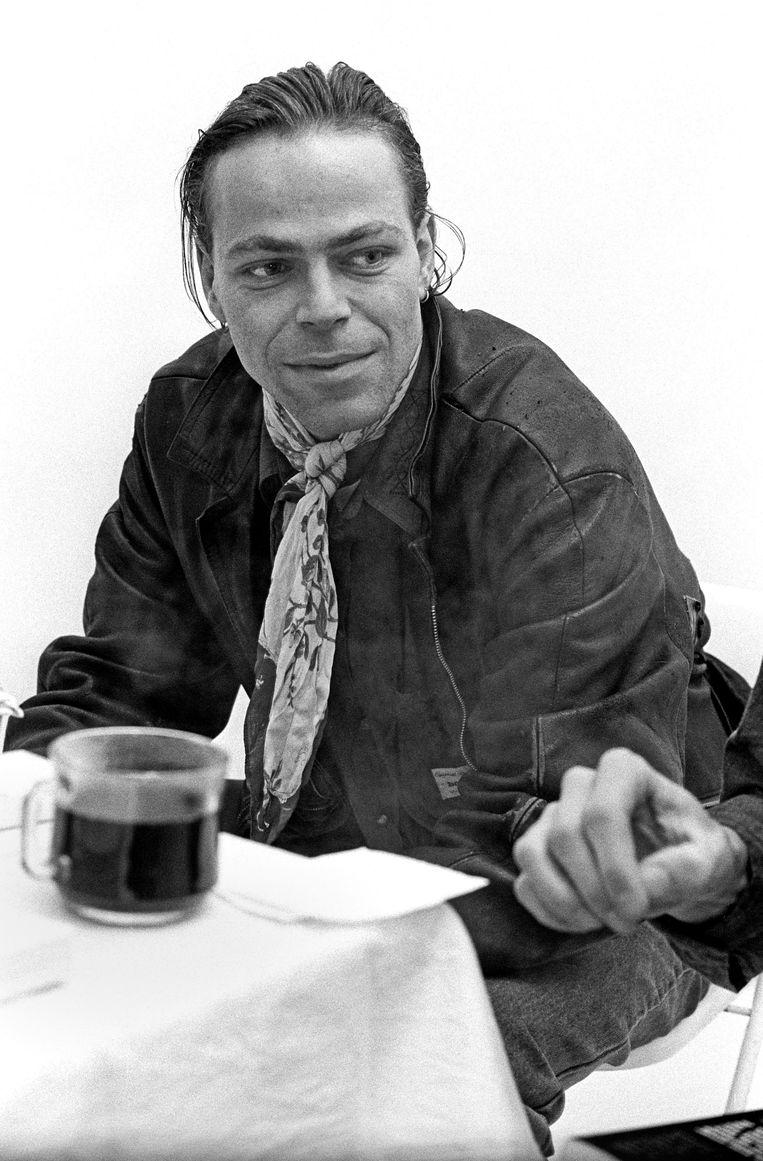 Martin Bril in 1988. Beeld Hollandse Hoogte / Roeland Fossen