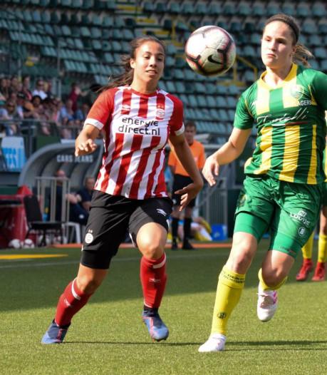 PSV Vrouwen heeft titelkansen niet meer in eigen hand na gelijkspel bij ADO