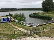 Noodpomp in Ouddorp om kwaliteit van het water zo goed mogelijk te houden