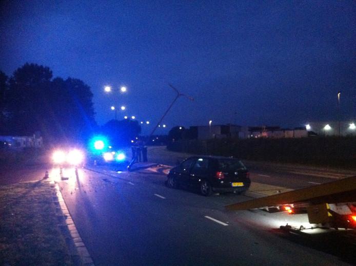 Het ongeluk gebeurde op de Zandzuigerstraat in Den Bosch.