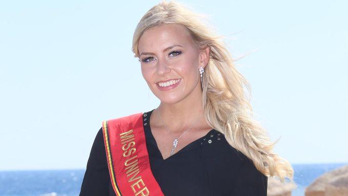Wordt de Oost-Vlaamse Liesbeth Claus volgende maand Miss Universe?
