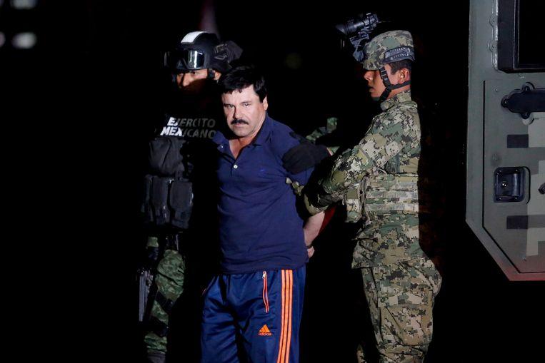 Drugsbaron Joaquín 'El Chapo' Guzmán Loera.