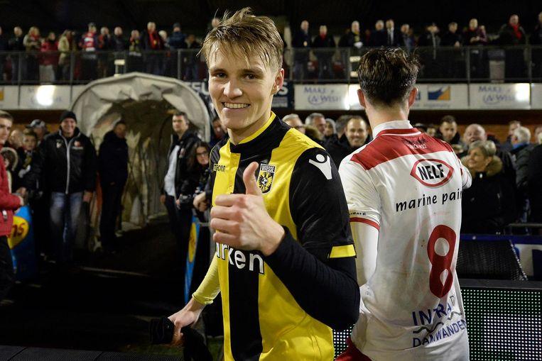 Martin Ødegaard Beeld anp