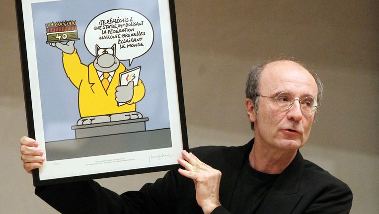 Cartoonist Philippe Geluck