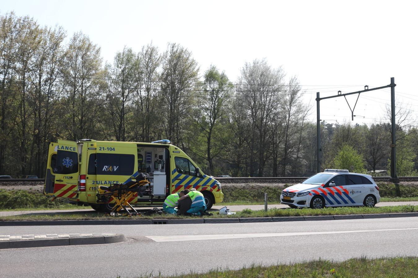 Motorrijder gewond in Boxtel