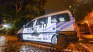 Activistenbeweging projecteert afbeelding van George Floyd op politiewagen, Brussels Justitiepaleis en standbeeld Leopold II