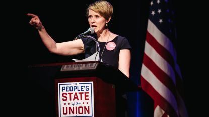 Cynthia 'Sex and the City' Nixon gooit zich in de strijd om gouverneurschap New York