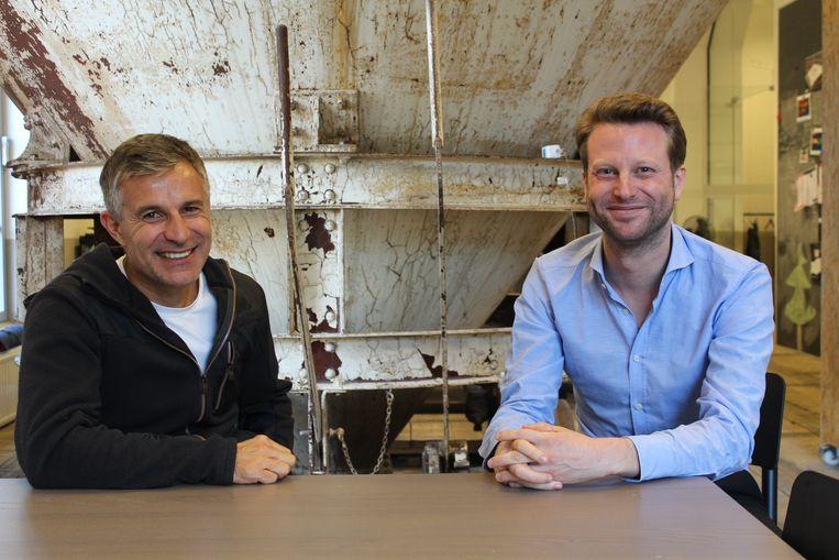 Bart Vanhaeren en Sam Custers in De Hoorn in Leuven.