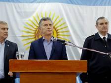 Hoofd Argentijnse marine ontslagen na drama met verdwenen onderzeeër