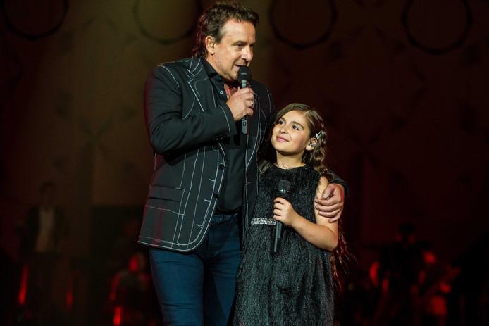 Anna Grigorian mocht als 9-jarige Voice Kids Kandidaat met Marco Borsato optreden in een vol Ziggo Dome.