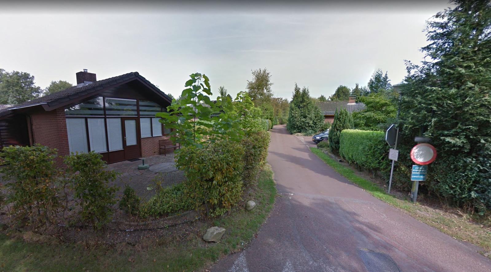 Recreatiepark Schepersveld in het buitengebied van Aalten.