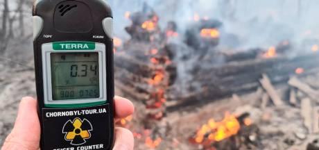 L'Ukraine dément une hausse de la radioactivité autour de Tchernobyl où la forêt s'embrase