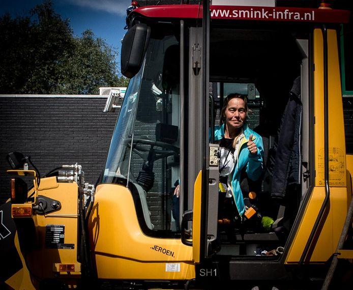 Jaschenka Schimmel is al 34 jaar vrijwilliger bij Bouwdorp Leusden