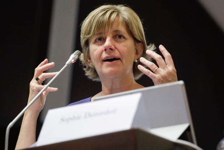 Sophie Dutordoir, CEO van de NMBS.