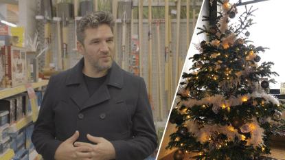 """Kerstboom kijken bij... Roel Vanderstukken: """"Met koraalroze ballen"""""""