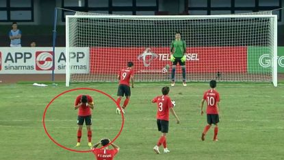 Wat een beeld: Zuid-Koreaanse sterspeler durft niet te kijken naar penalty die zijn leven helemaal overhoop kan gooien