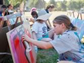 Kinderen spuiten graffiti in Zevenbergen: 'Normaal is dit illegaal'