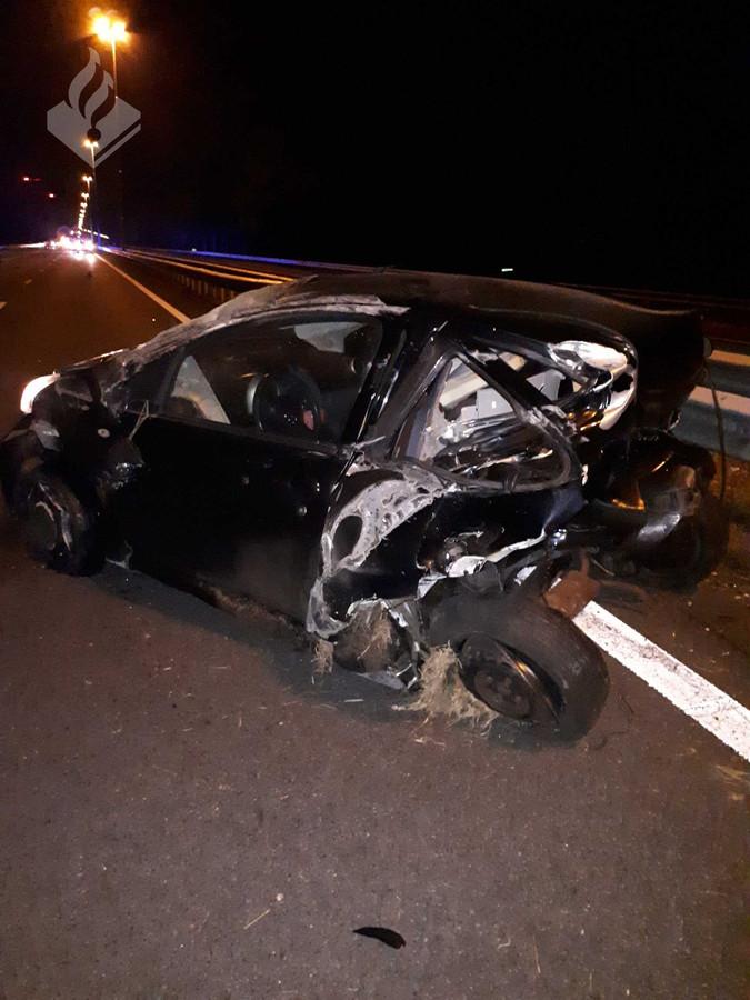 Ravage na ongeluk op A58