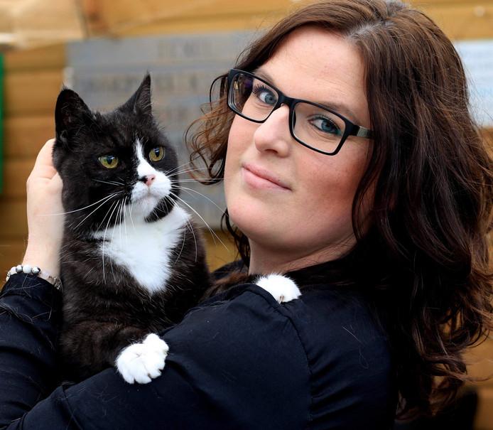 Nicolle Franken van de Kattenbarber in Nunspeet.