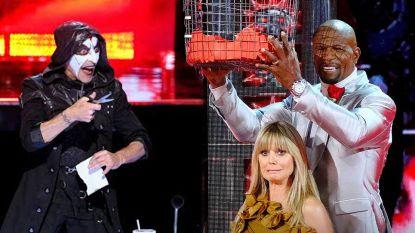 Heidi Klum schreeuwt het uit tijdens bloedstollende truc in 'America's Got Talent'