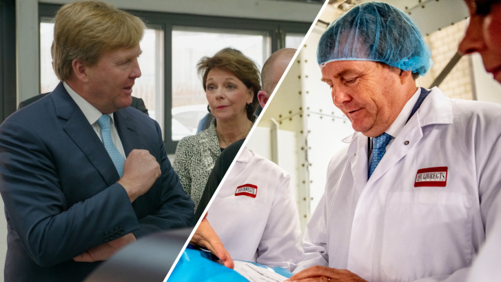 Koning Willem-Alexander brengt werkbezoek aan Brainport in Helmond
