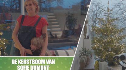 """Kerstboom kijken bij... Sofie Dumont: """"Ik versier 'm met 'luiewijvenkoekjes'"""""""