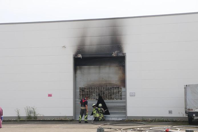 Er kwam veel rook vrij bij de grote brand