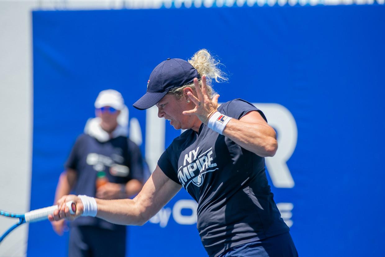Kim Clijsters op het World TeamTennis toernooi in de VS - dag 6 - 17/07/2020