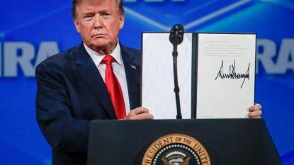 Trump zegt nu ook VN-Wapenhandelsverdrag op