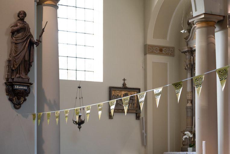 BORNEM Oecumenische internationale gebedsviering in de Abdijkerk voor de 50ste Dodentocht