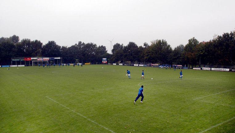 Een voetbalveld van DWS Beeld ProShots