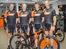 Sallanders wagen zich aan monstertocht voor mountainbikers in Zuid-Afrika