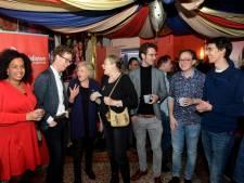 PvdA viert een coalitiefeestje in het Zeeheldentheater