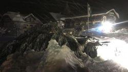 Oostenrijks hotel bedolven onder sneeuw: lawinegevaar blijft bestaan