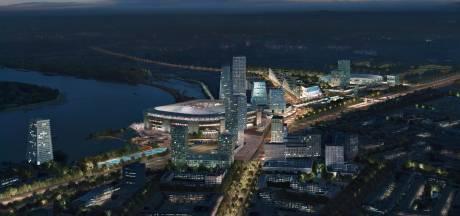 'Nog vijftig miljoen te gaan in de financiering van het nieuwe stadion van voetbalclub Feyenoord'
