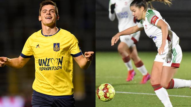 """Dante (Union SG) en Luna Vanzeir (OHL) volgen elkaars prestaties op de voet: """"Samen op het terrein zouden wij een perfect duo vormen"""""""