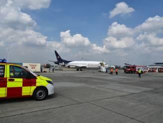 Grootscheepse rampoefening op Brussels Airport gehouden