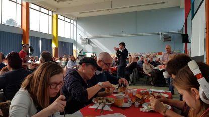 "Verkiezingscampagne Steven De Vuyst (PVDA) draait op volle toeren: ""Veel enthousiasme voor ons fenomenaal sociale programma"""