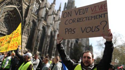 Kleinere incidenten in Parijs en Rouen bij betogingen van gele hesjes