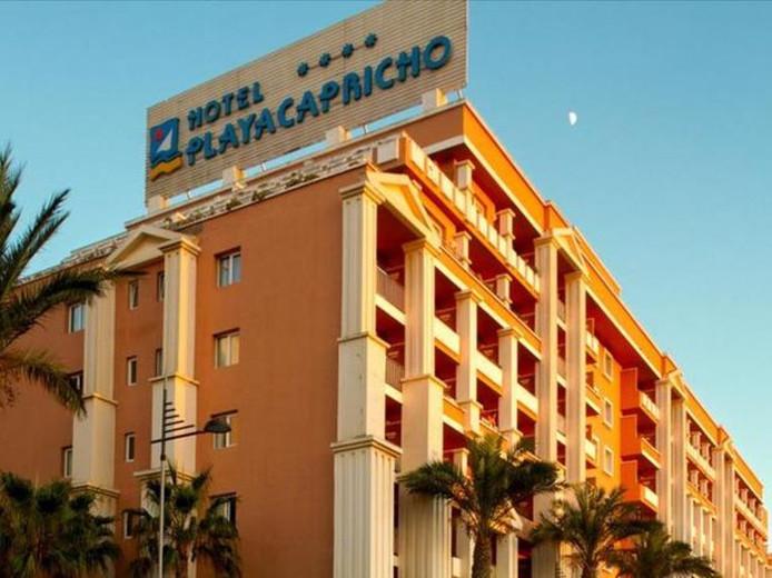 L'hôtel Playacapricho à Roquetas de Mar